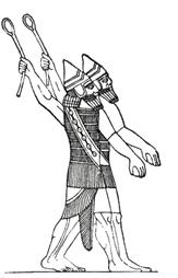 assyrian-sling